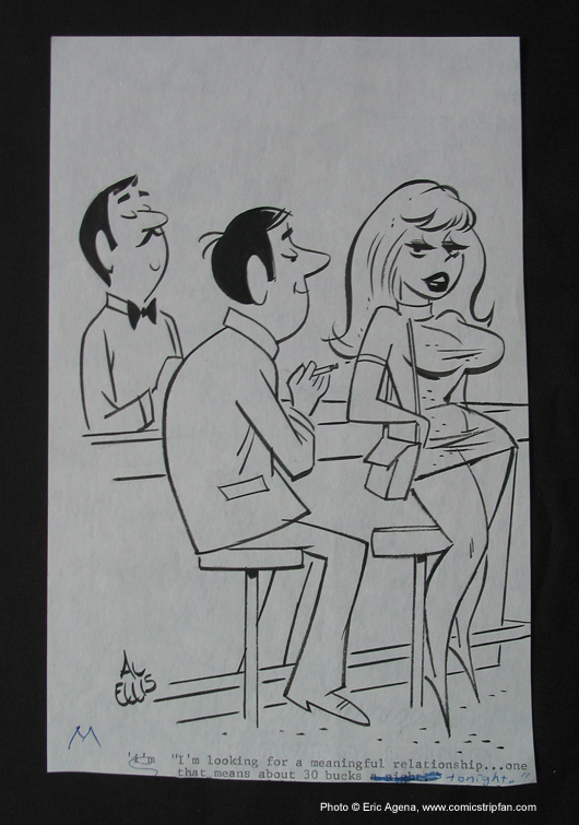Original Sex to Sexty cartoon panel by Al Ellis, published in the late ...