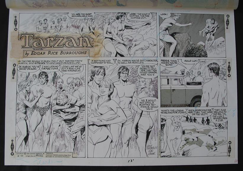 Jane Tarzan Comic Strip